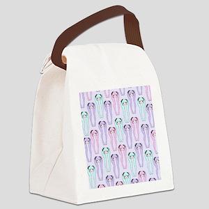 Shiteyanyopattern Canvas Lunch Bag