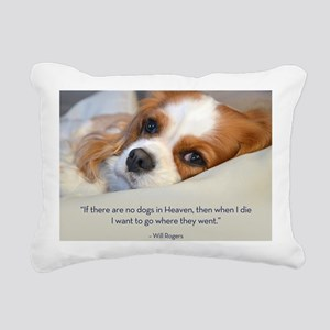 Cavalier King Charles Sp Rectangular Canvas Pillow