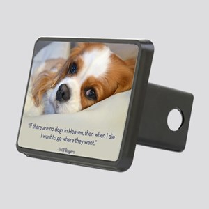 Cavalier King Charles Span Rectangular Hitch Cover