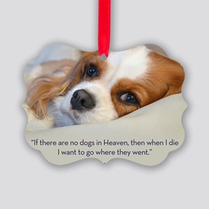 Cavalier King Charles Spaniel in  Picture Ornament