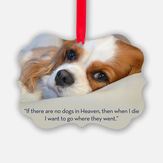 Cavalier King Charles Spaniel in  Ornament
