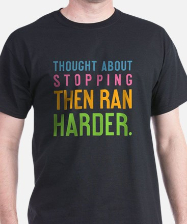ipad  Thought about stopping, then ra T-Shirt