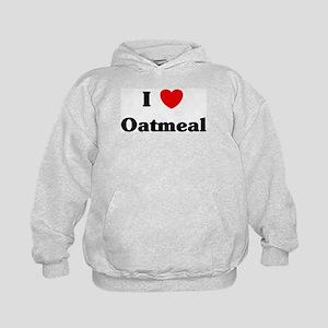 I love Oatmeal Kids Hoodie