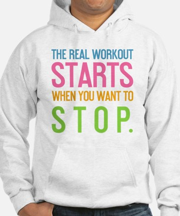 ipad The real workout starts whe Hoodie