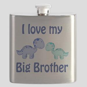 I love my big brother Dinosaur Flask