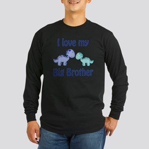 I love my big brother Din Long Sleeve Dark T-Shirt