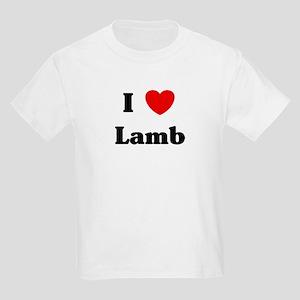 I love Lamb Kids Light T-Shirt