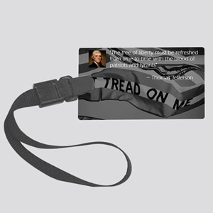 The Tree of Liberty Large Luggage Tag