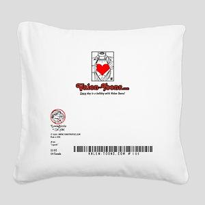 105A-LEGENDS-5x7-BACK Square Canvas Pillow