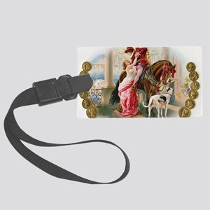 La Balca Knight and Lady Large Luggage Tag