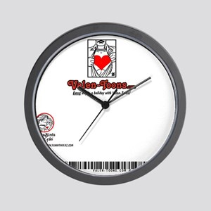 103A-THE-KISS-5x7-BACK Wall Clock