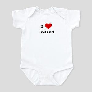 I Love Ireland Infant Bodysuit
