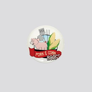 Pork And Corn Roast Mini Button