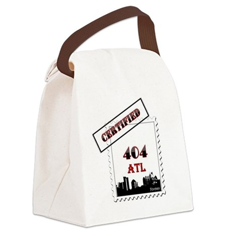 404 ATL Certified Forever Canvas Lunch Bag