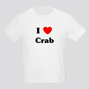 I love Crab Kids Light T-Shirt