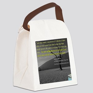 The Liberty Tree (Long) Canvas Lunch Bag