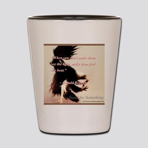 See the Light Shot Glass