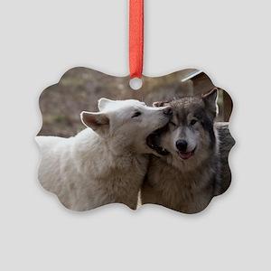 Waya and Sasha Picture Ornament