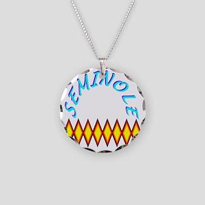 SEMINOLE TRIBE Necklace Circle Charm
