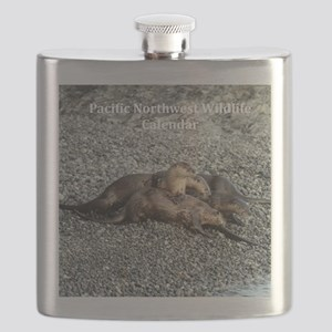 River Otters Flask
