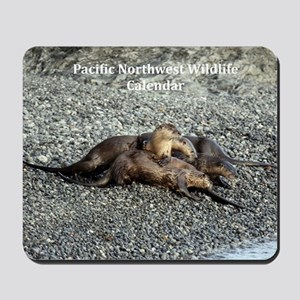 River Otters Mousepad