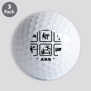 Bodybuilder-AAZ1 Golf Balls
