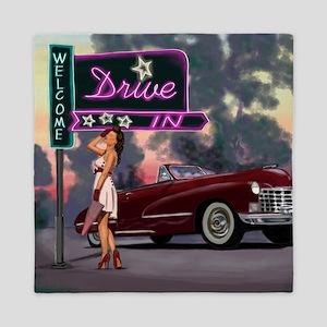 Welcome Drive In Queen Duvet