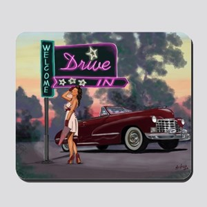 Welcome Drive In Mousepad