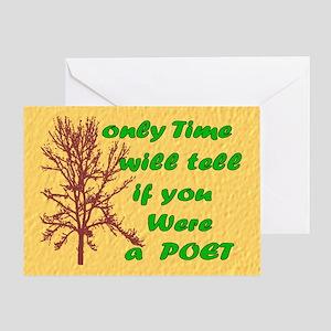 Bucket Bag Greeting Card