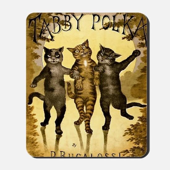 Tabby Polka Mousepad