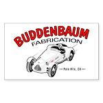 Buddenbaum Fab Rectangle Sticker