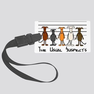 The usual suspects Large Luggage Tag