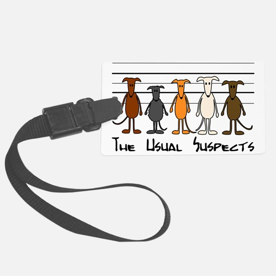 The usual suspects Luggage Tag
