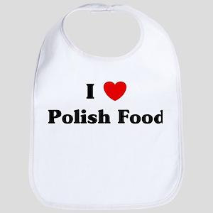 I love Polish Food Bib