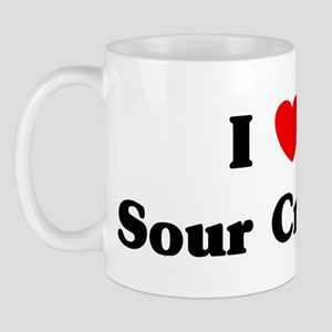 I love Sour Cream Mug