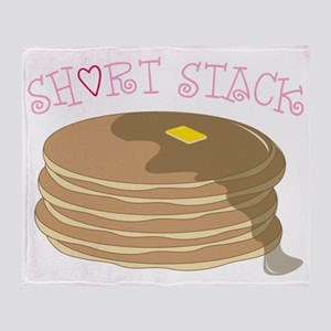Short Stack Throw Blanket
