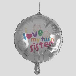 Twin Sister Mylar Balloon