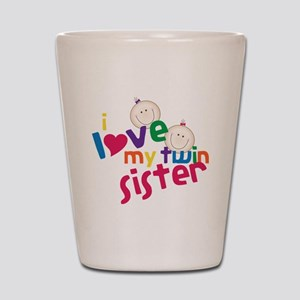 Twin Sister Shot Glass