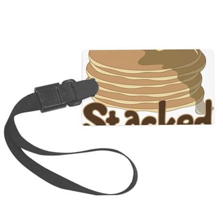 Stacked Large Luggage Tag