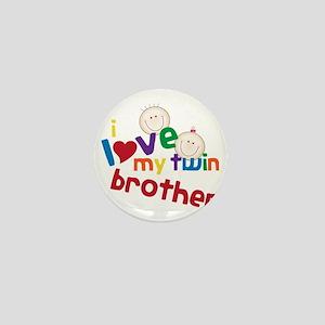 Love My Twin Mini Button