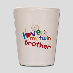 Love My Twin Shot Glass