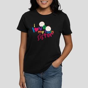 Love My Twin Women's Dark T-Shirt