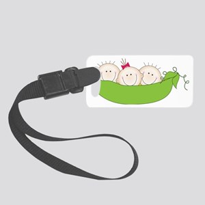 Come In Threes Small Luggage Tag
