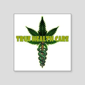 """True Health Care Square Sticker 3"""" x 3"""""""
