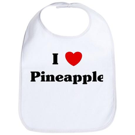 I love Pineapple Bib