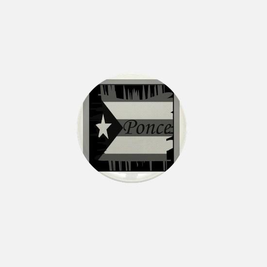 Ponce PR Mini Button