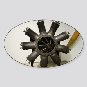 Rotary Engine Sticker (Oval)
