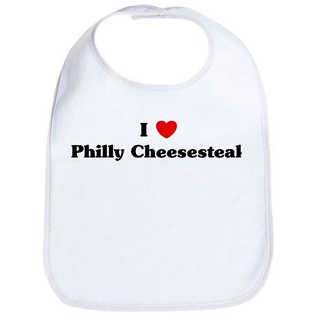 I love Philly Cheesesteak Bib