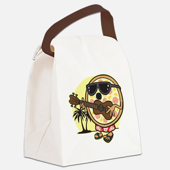 Hawaiian Pizza Canvas Lunch Bag