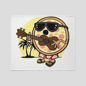 Hawaiian Pizza Throw Blanket